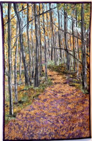Contemporary Quilt and Fiber Exhibition @ Cincinnati Nature Center, Rowe Woods location
