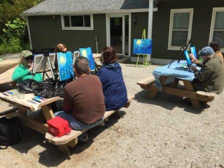 Art Party in the Woods @ Cincinnati Nature Center - Rowe Woods