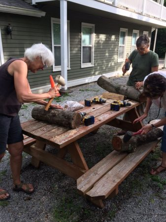 DIY Mushroom Log Class at LBFT @ Long Branch Farm & Trails