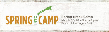 Spring into Camp @ Cincinnati Nature Center, Rowe Woods