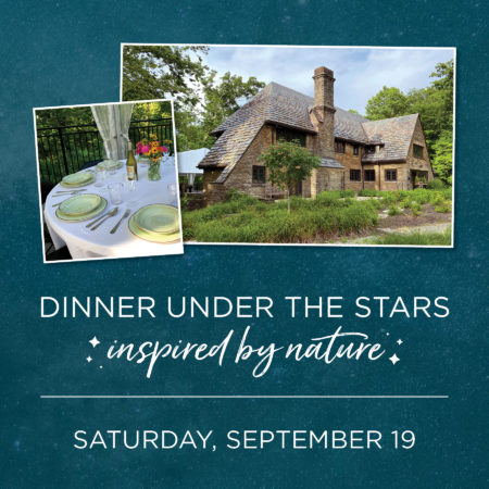 Dinner Under the Stars: Inspired by Nature @ Cincinnati Nature Center, Rowe Woods